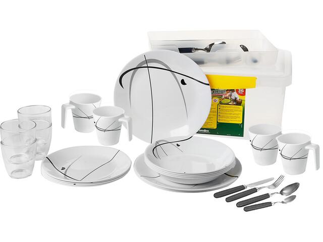 Brunner All Inclusive Service à vaisselles, design serenade